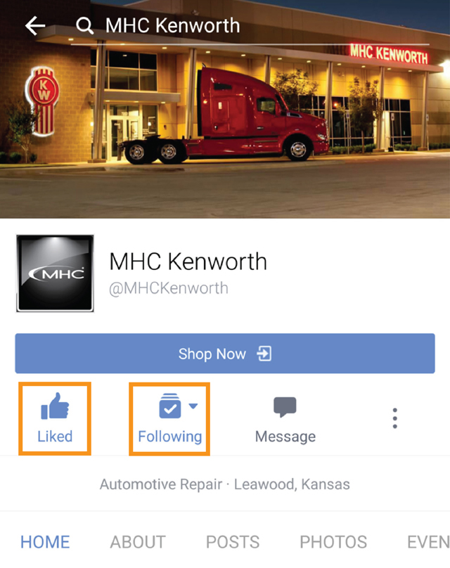 MHC Facebook Page