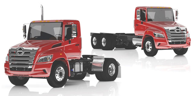 Hino Heavy Duty Class 7 and 8 XL Series Trucks