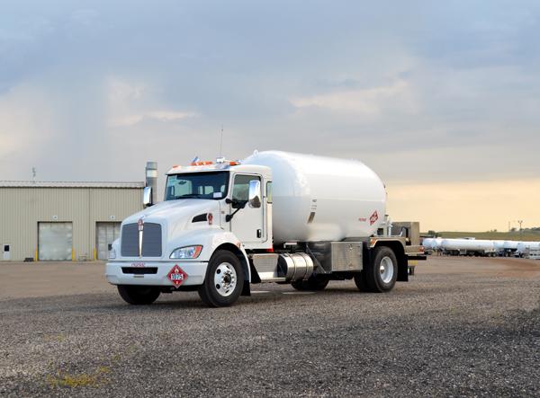 Kenworth Propane Truck Medium Duty