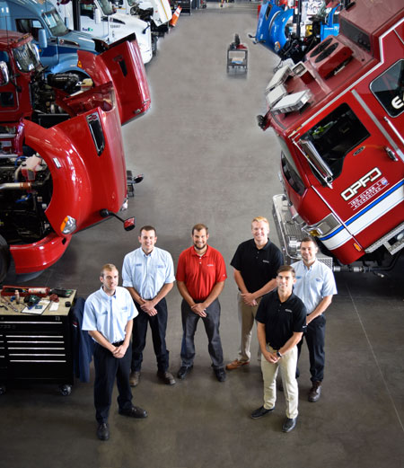 MHC Kenworth Dealership Service Department
