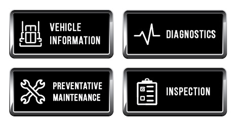 RoadPulse diagnostics with MHC Kenworth including vehicle information, preventative maintenance and DOT inspection