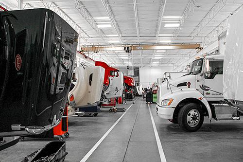 MHC Kenworth Truck Service Shop