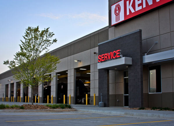 MHC Kenworth Service Department Storefront