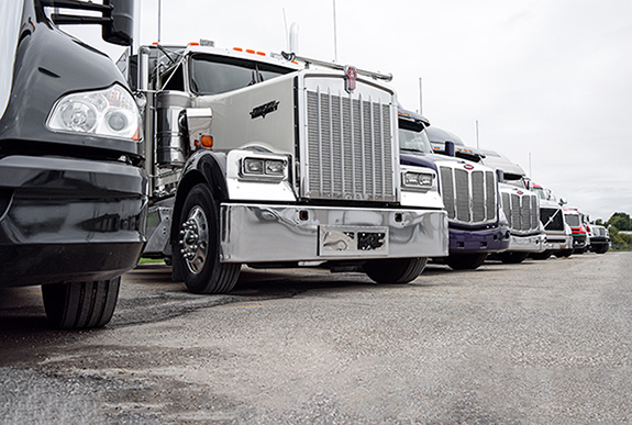 Used Truck Lineup at MHC Kenworth