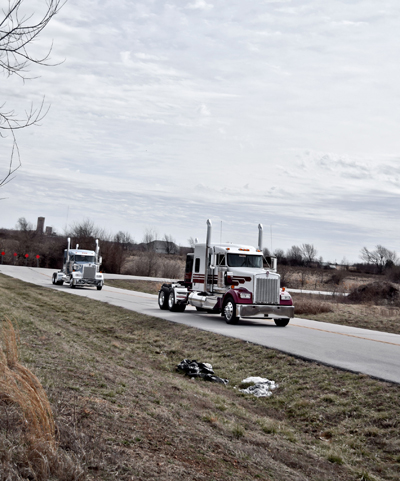 Kenworth W900 Truck over the road