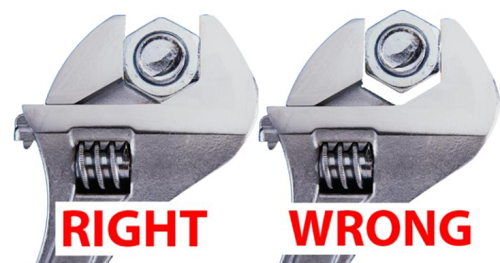 Right and Wrong Ways to use Wrench
