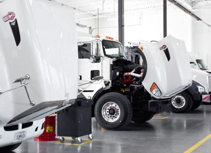 MHC Truck Technician Facilities Are State-of-the-Art