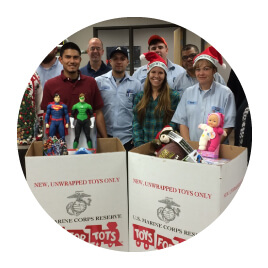 MHC Gives back to the Community