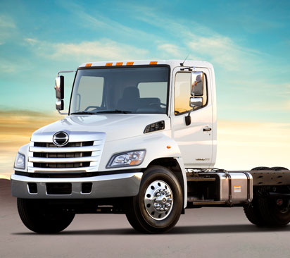 Hino 268 Truck Available for Lease