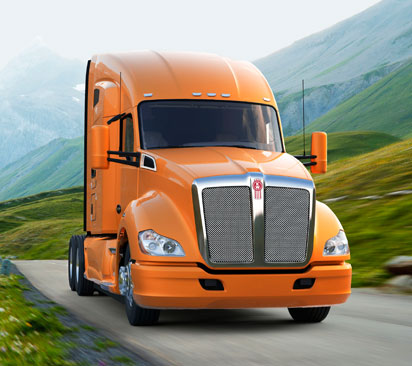 Kenworth T680 sleeper truck available to lease