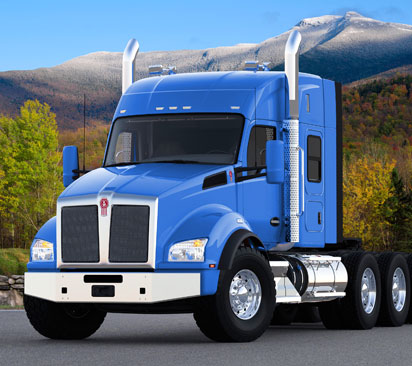 Kenworth T880 Sleeper Truck