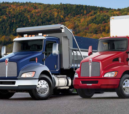 Kenworth T270, T370 Trucks Available to Lease