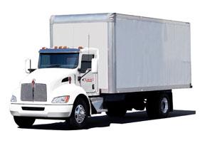 Kenworth T370 Medium Duty Box Truck
