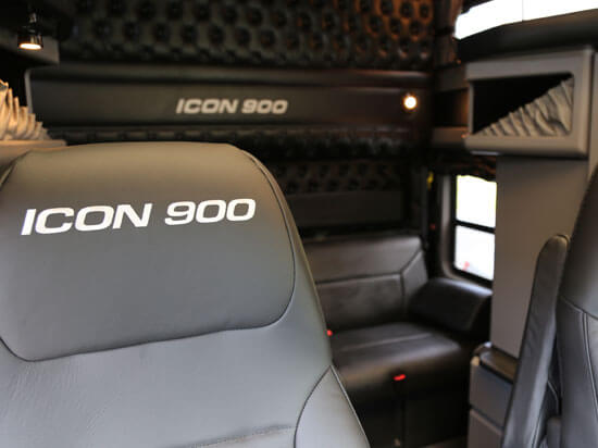 Kenworth ICON 900 interior