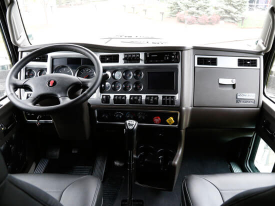 Kenworth ICON 900 interior dash board