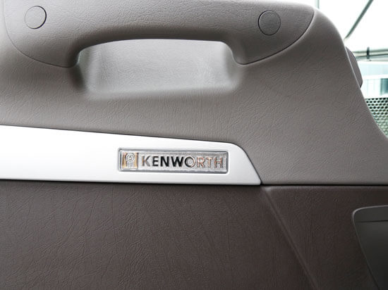 Kenworth ICON 900 interior door badge