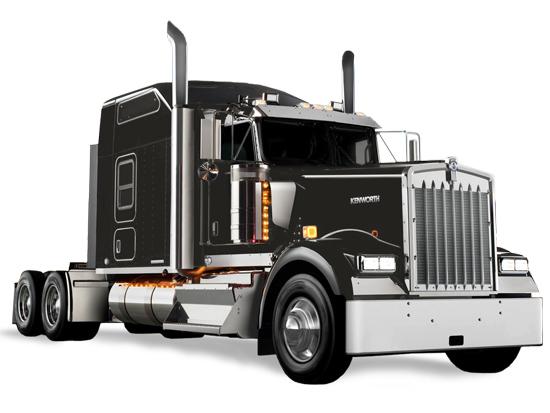 ICON 900 Kenworth W900L Truck