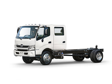 Hino 155 and 195 Double Cab body