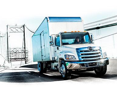 Hino 268A Box Body Truck