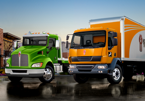 Kenworth K370 and T270