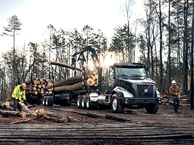Volvo VNX 400 Logging