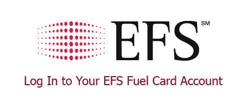 Log In to Your EFS Fuel Card Account