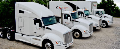 MHC Leasing Truck Lineup Pod