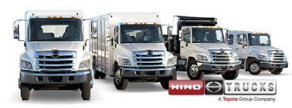 hino light and medium duty trucks