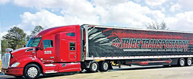 Tribe Transportation Achieves Low Driver Turnover with Kenworth T680 Trucks