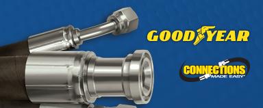 Goodyear hydraulic hoses