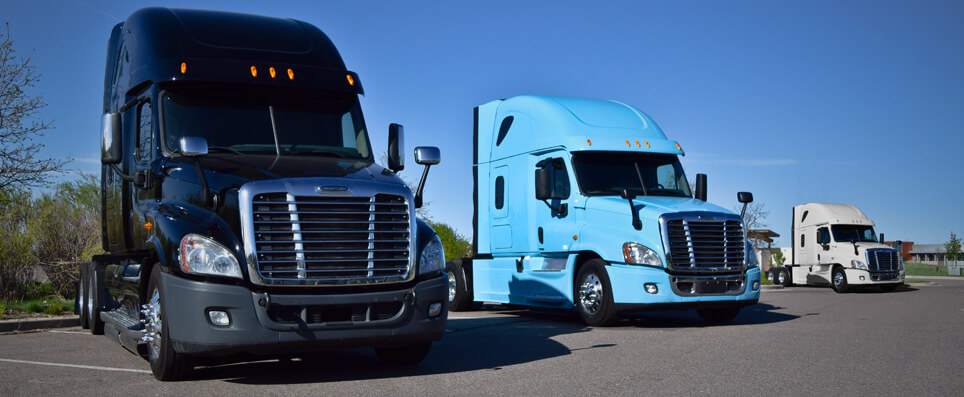2014 Freightliner Cascadias | $0 Down Financing Program
