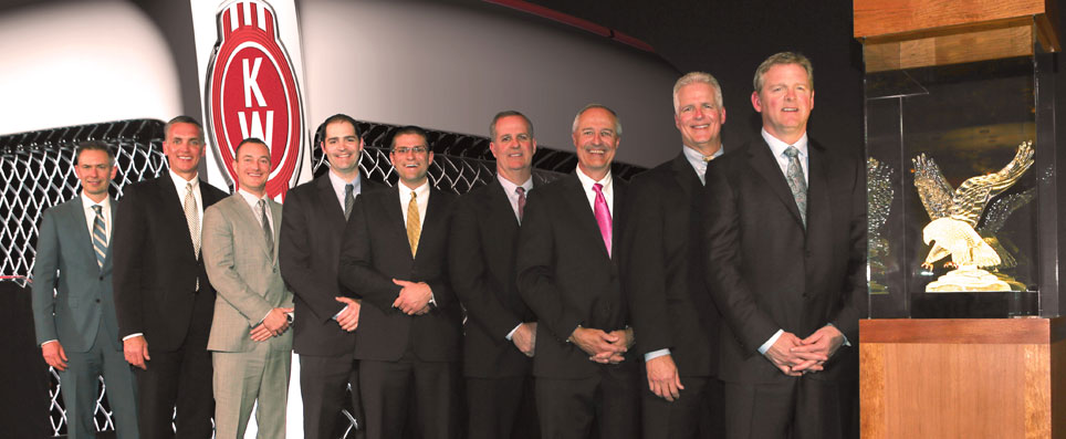 MHC Sweeps Awards at Kenworth Dealer Meeting