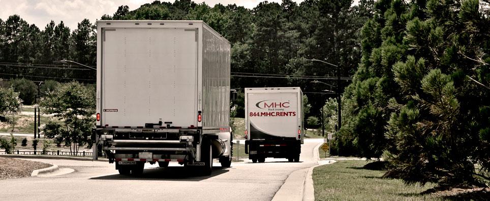 MHC Truck Rental | Straight, Day Cabs & Sleeper Semi Trucks