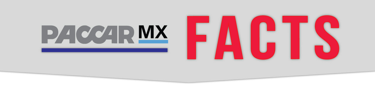 PACCAR MX Facts Banner