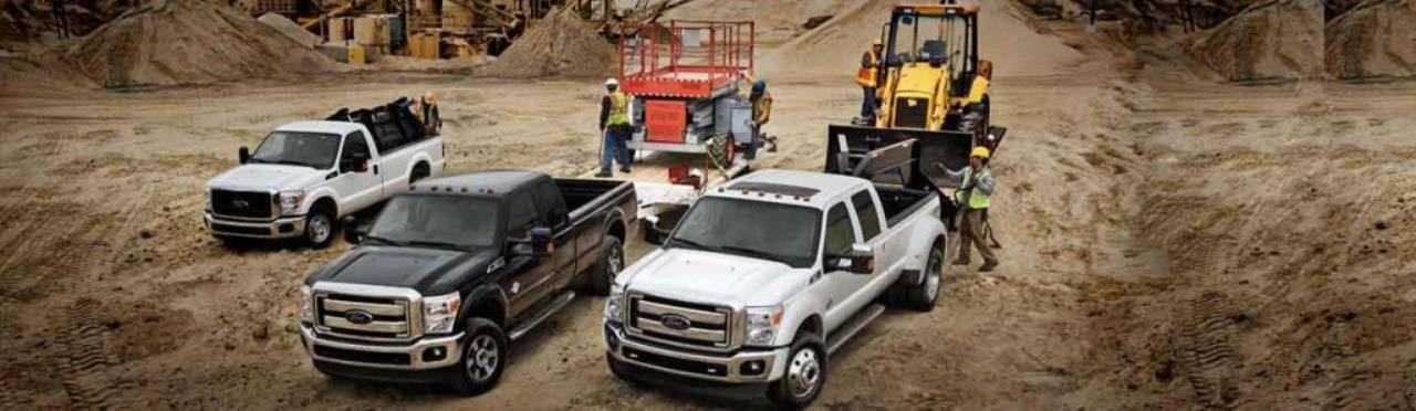 Ford Heavy Duty Trucks Lineup