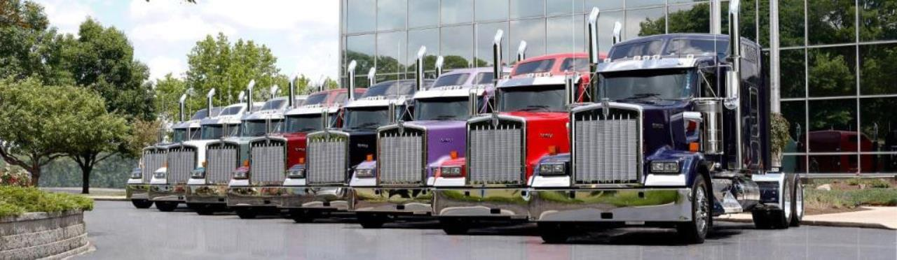 Kenworth ICON 900 Truck Lineup
