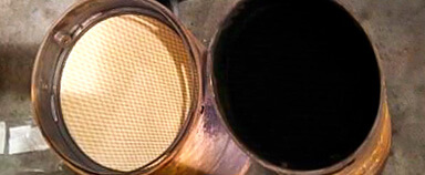 DPF - Cleaning and Inspection