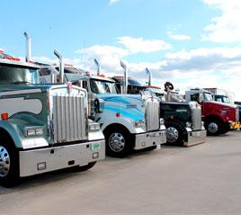 georgia truck expo, heavy duty truck lineup