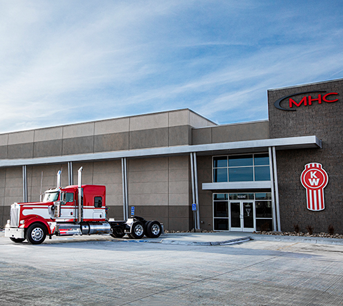 MHC Kenworth - Omaha, NE dealership facility