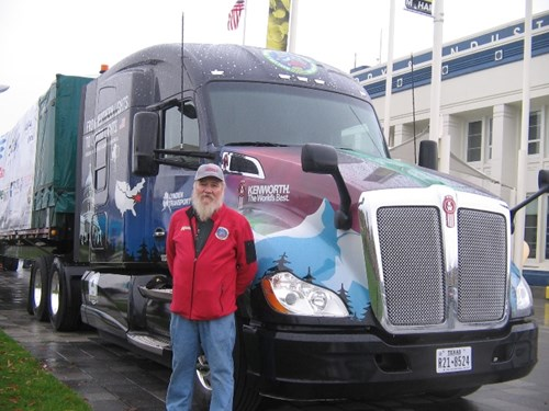 2015 Capitol Christmas Tree Driver John Schank