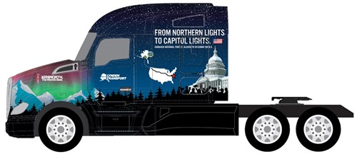 2015 Capitol Christmas Tree Truck