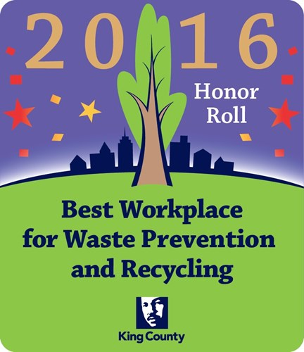 Kenworth Renton Assembly Plant Earns 2016  Best Workplace For Waste Prevention and Recycling Award