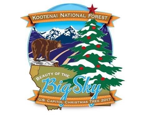 U.S. Capitol Christmas Tree Tour Official Logo