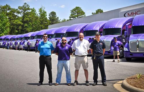 Bell Nursery receives T680s leased from MHC Truck Leasing - Concord