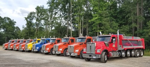 Bennett Hauling North Carolina Dump Trucks Kenworth T880