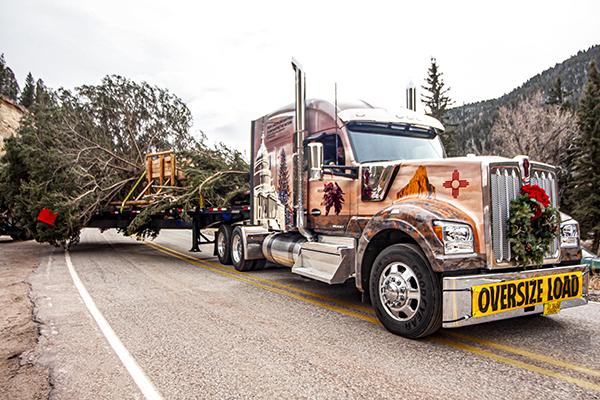Capitol Christmas Tree Truck