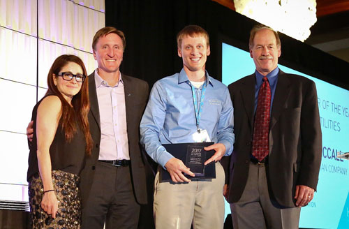 MHC's Carson McCall earns Lytx DriveCam's Safe Driver of the Year Award
