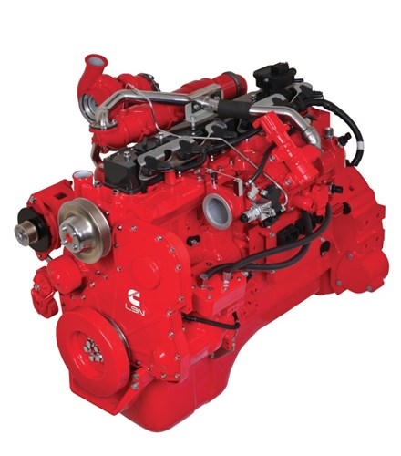 Cummins Natural Gas Engine