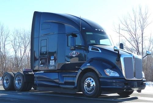 Kenworth T680 Featuring TruckTech+ Remote Diagnostics