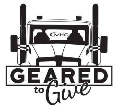 MHC Geared to Give logo